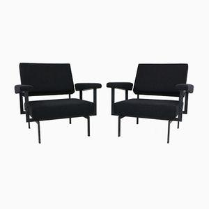 Vintage MM70 Japanese Series Armchairs by Cees Braakman for Pastoe, Set of 2