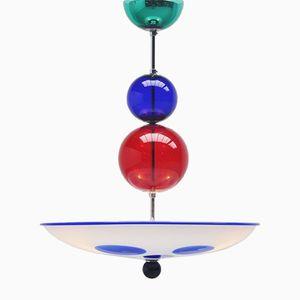Italian Murano Glass Ceiling Light by Simone Cenedese for Cenedese, 1980s