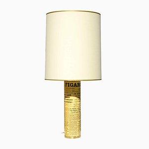 Lampe de Bureau Le Figaro par Piero Fornasetti, 1955