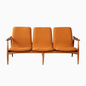Vintage Three-Seater Sofa by Louis Van Teeffelen