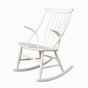 Rocking Chair by Illum Wikkelso for N. Eilersen, 1950s