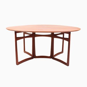 Gateleg Tisch von Peter Hvidt & Orla Mølgaard-Nielsen für France & Søn, 1950er