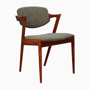 Chaise de Salon Mid-Century par Kai Kristiansen pour Schou Andersen, Danemark,1960s