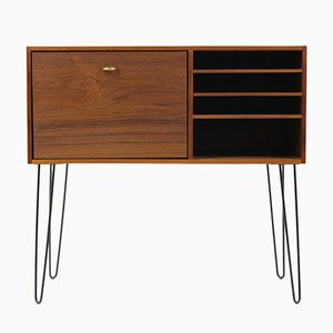 Mid-Century Danish Solid Teak Chest of Drawers, 1960s