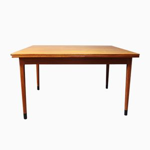 Table de Salle à Manger en Teck & Ébène par N.O. Møller pour J.L. Møllers, 1960s