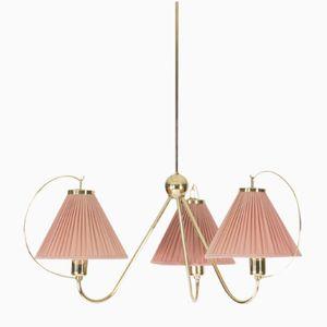 Messing Deckenlampe von Josef Frank für Svenskt Tenn, 1950er