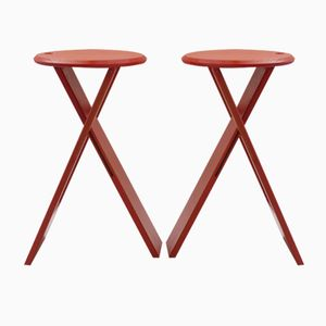 Suzy Stools by Adrian Reed for Princes Design Works Ltd, 1980s, Set of 2