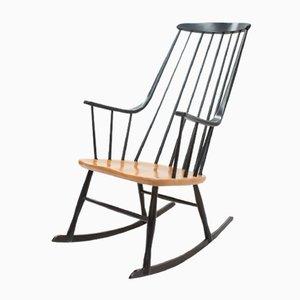 Rocking Chair Mid-Century Grandessa en Hêtre par Lena Larsson pour Nesto