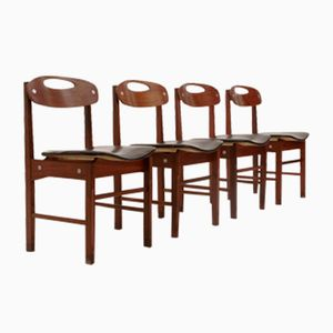 Italian Dining Chairs by Pillinini, 1960s, Set of 4
