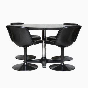 Vintage Tisch und Spirit Esszimmerstühle von Hajime Oonishi für Houtoku Artifort