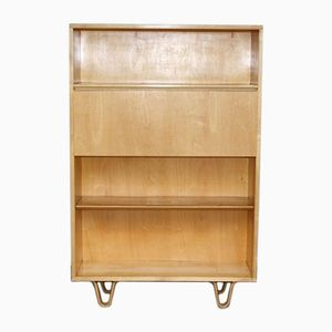 Vintage Model BB04 Birch Cabinet or Secretaire by Cees Braakman for Pastoe