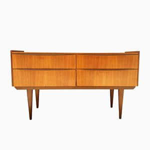 English Teak Chest of Drawers, 1960s