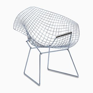 Vintage Modernist Diamond Chair by Christophe Pillet