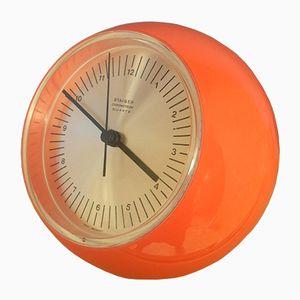 Horloge de Table Space Age Chrometron CQ 2000 de Staiger, 1971