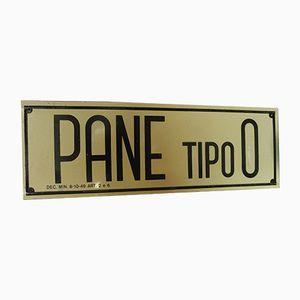 Panneau Industriel Vintage Pane Tipo 0, Italie,1960s