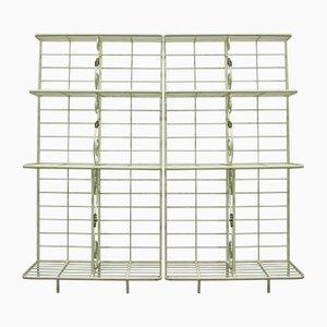 Vintage Display Shelves, Set of 2