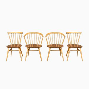 Dining Chairs by Lucian Ercolani for Ercol, 1960s, Set of 4