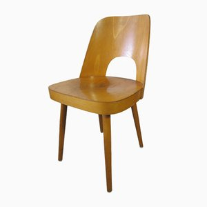 Plywood Chair by Oswald Haerdtl for Thonet, 1955