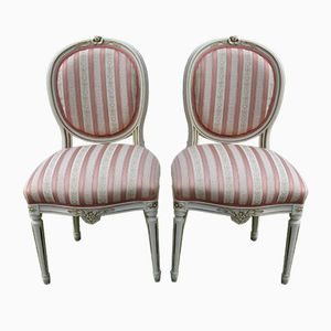 Gustavian Style Chairs, 1900s, Set of 2