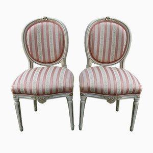 Stühle im Gustavianischen Stil, 1900er, 2er Set