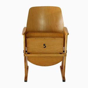 Vintage Cinema Seat by TON (Thonet), 1960s