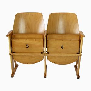 Vintage Cinema 2-Seater by TON (Thonet), 1960s
