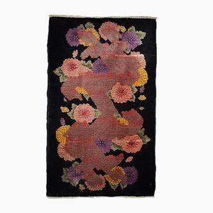 Chinese Handmade Art Deco Rug, 1920s