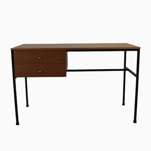 Desk with Two Drawers by Pierre Guariche for Meurop Belgium, 1965