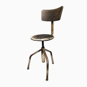 Vintage Italian Industrial Chair, 1960s