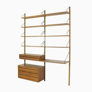 Vintage Danish Modular Teak Bookshelf by Paul Cadovious for Cado