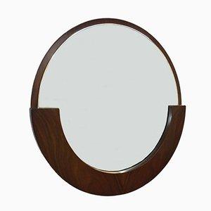 Italienischer Palisander Spiegel, 1960er