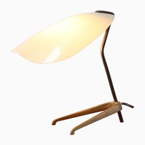 Kleine Dreibein Pinocchio Tischlampe aus Messing, 1950er