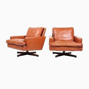 Lounge Chairs by Fredrik Kayser for Vatne Møbler, 1970s, Set of 2