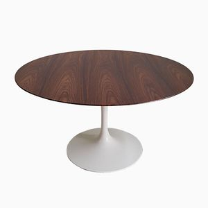 Tulip Table in Rosewood by Eero Saarinen for Knoll International, 1970s
