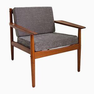 Skandinavischer Vintage Armlehnstuhl von Arne Vodder für Glostrup Møbelfabrik