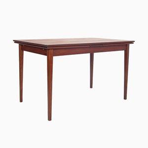 Ausziehbarer Teak Furnier Tisch, 1960er