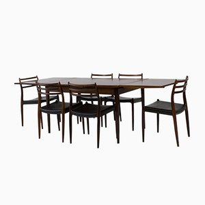 Danish Dining Room Set by Niels Otto Møller for JL Møllers, 1960s