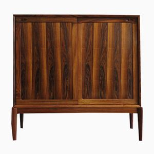 Mid-Century Danish Rosewood Cabinet by H.W. Klein