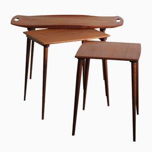Tables Gigognes par Jens Harald Quistgaard pour IHQ, 1950s