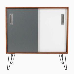 Teak Cabinet with Sliding Doors from ES Møbler, 1960s