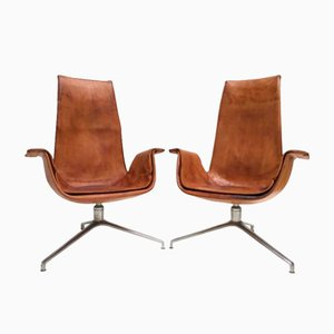 FK 6725 Tulip Chairs by Preben Fabricius & Jørgen Kastholm for Alfred Kill, 1964