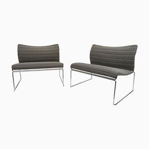 Saghi Lounge Chairs by Kazuhide Takahama for Gavina, 1970s, Set of 2