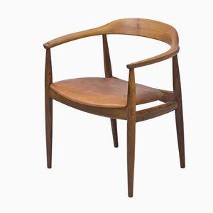 Armlehnstuhl von Illum Wikkelsø für N. Eilersen, 1950er