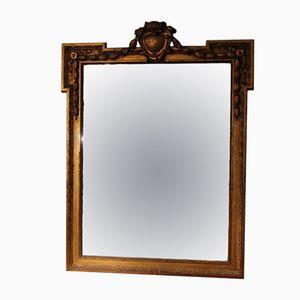 Französischer Vergoldeter Spiegel, 19. Jh.