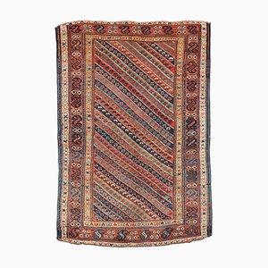 Antiker Handgeknüpfter Persischer Kurd Teppich, 1860er
