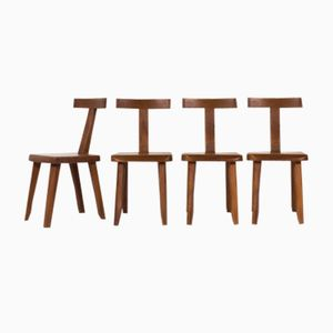 Dining Chairs by Olavi Hanninen for Mikko Nupponen, 1950s, Set of 4