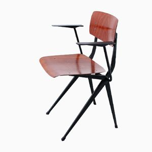 Mid-Century Pagwood School-Chair from Marko