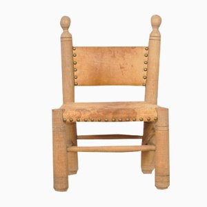 Vintage Louisiana Ladder-Back Child's Chair