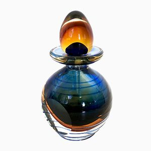 Italian Sommerso Perfume Bottle from A. Dal Borgo, 1980s