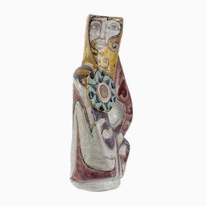 Grand Vase Figuratif par Elio Schiavon, 1960s